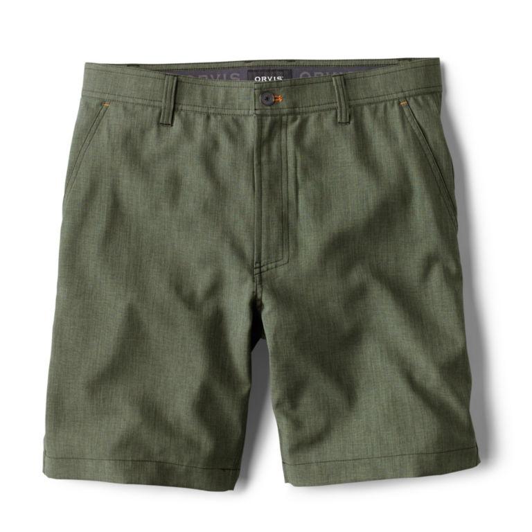 Tech Chambray Shorts - JUNIPER image number 0