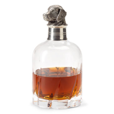 Crystal Pewter Lab Decanter -