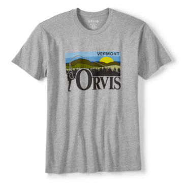 Vermont Skyline Short-Sleeved T-Shirt -  image number 0