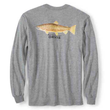 Talbot Brown Trout Long-Sleeved T-Shirt -  image number 0