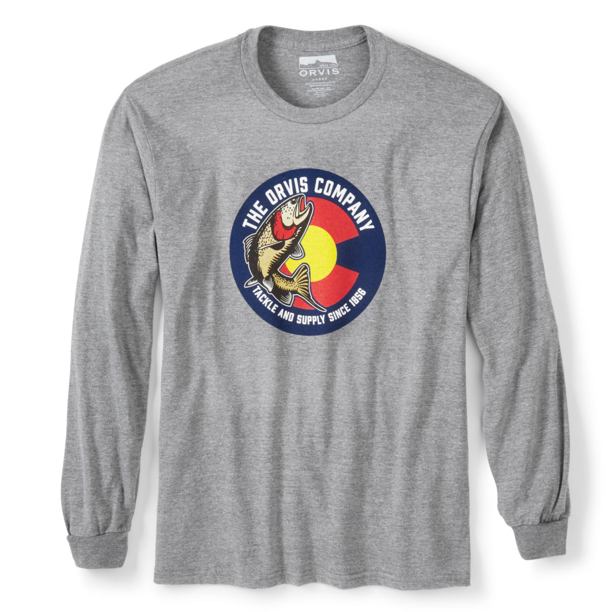 Colorado Circle Trout Long-Sleeved T-Shirt - image number 0