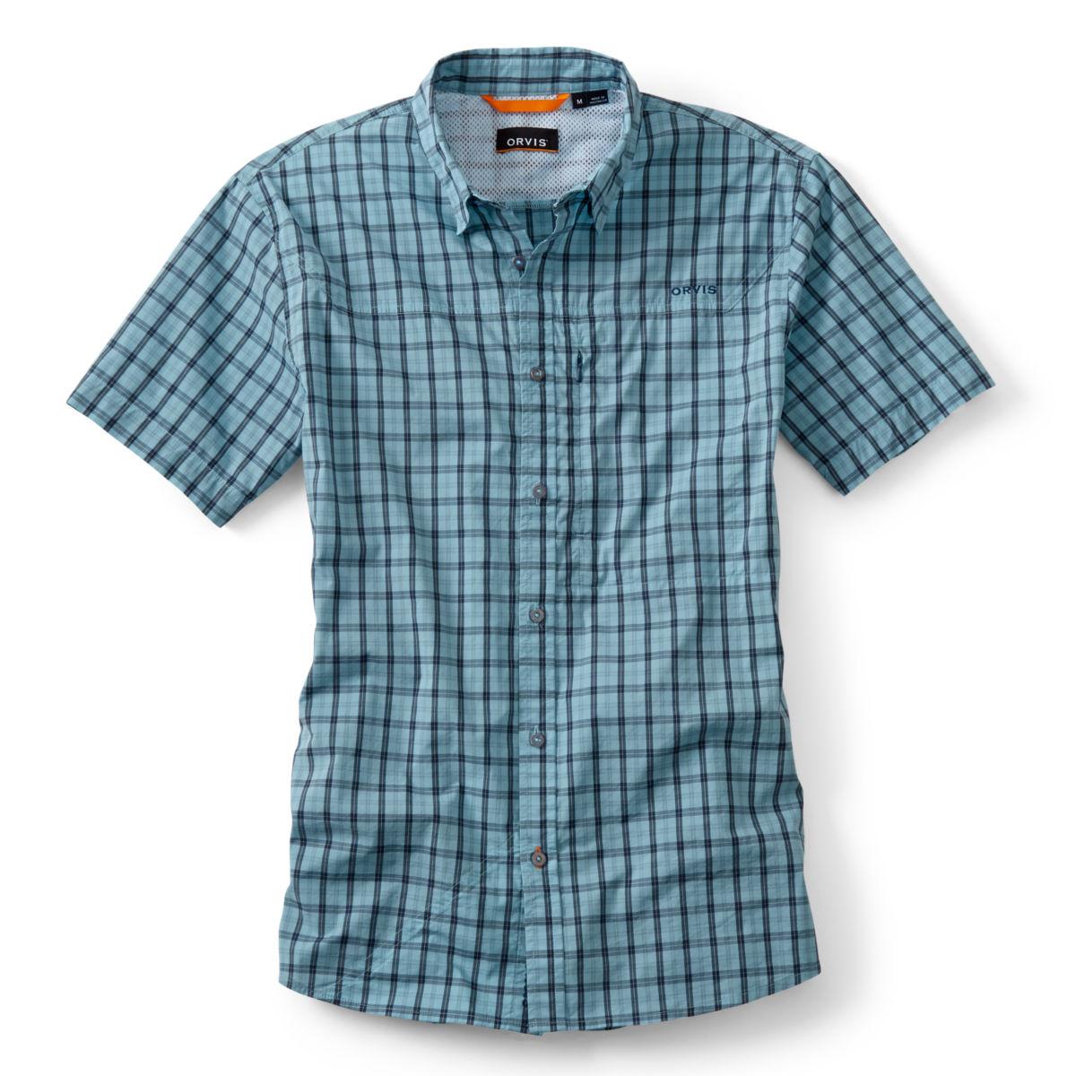 South Fork Stretch Short-Sleeved Shirt - AQUA SEAimage number 0