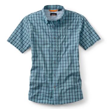 South Fork Stretch Short-Sleeved Shirt - AQUA SEA image number 0