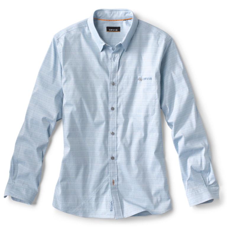 Striped Work Shirt - BLUE image number 0