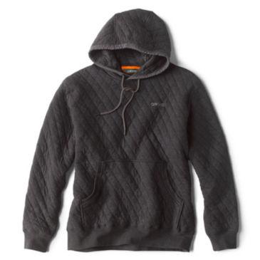 Outdoor Quilted Hooded Sweatshirt -