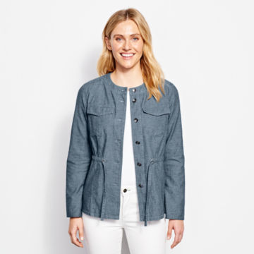Chambray Utility Jacket - image number 1