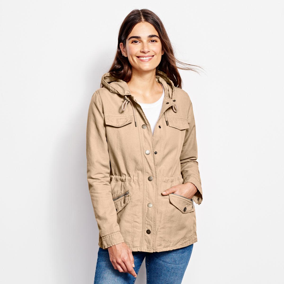 Linen/Cotton Ramble Jacket - image number 0