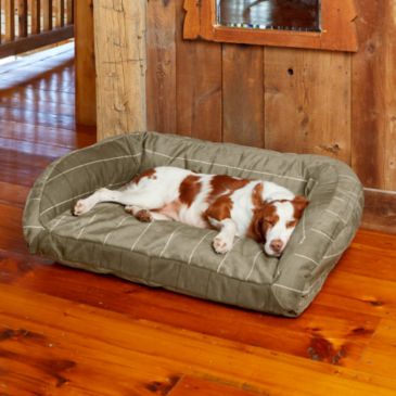 ToughChew®  ComfortFill-Eco™ Bolster Dog Bed -