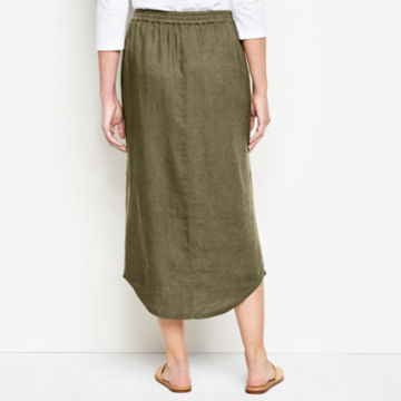 Orvis Performance Linen Button-Front Skirt -  image number 2