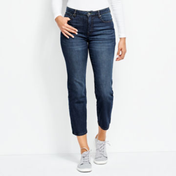 Orvis 1856 Straight Cropped Jeans -  image number 0