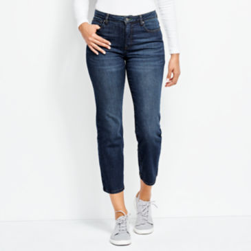 Orvis 1856 Straight Cropped Jeans -