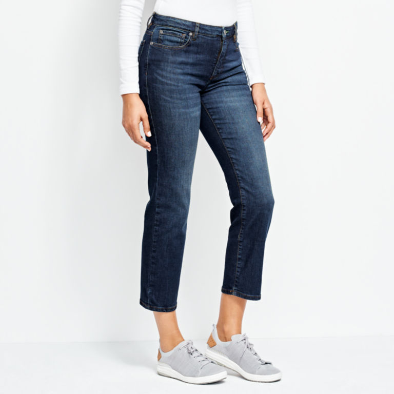 Orvis 1856 Straight Cropped Jeans -  image number 1