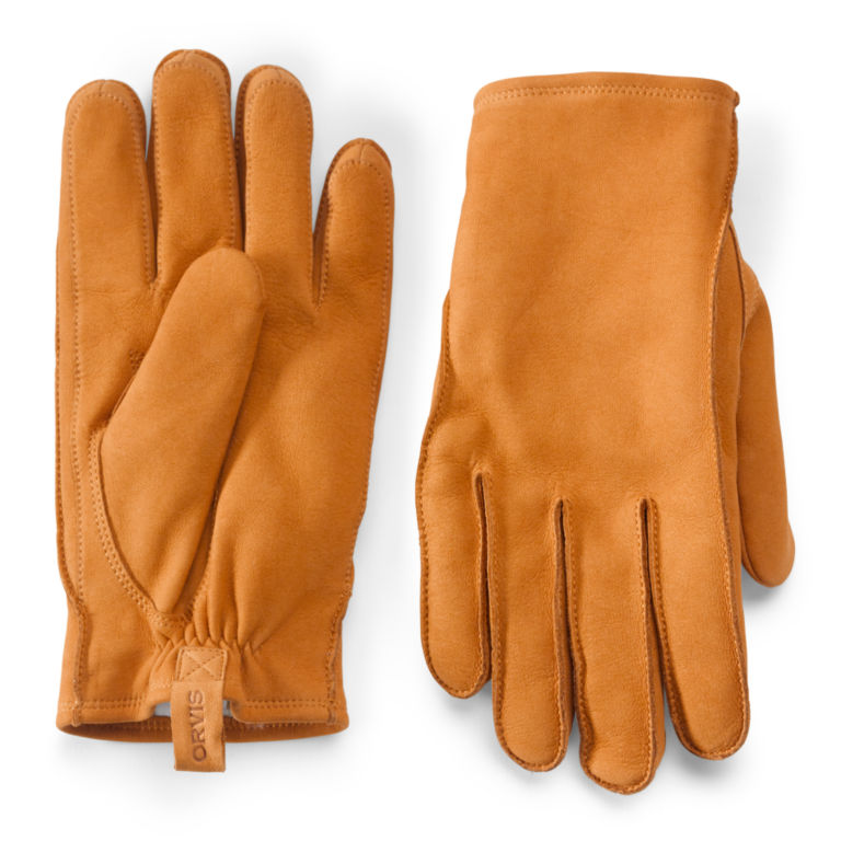 Equinox Leather Gloves - BROWN image number 0