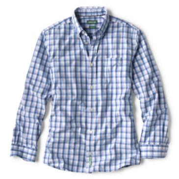 Heritage Poplin Long-Sleeved Shirt - FRESHWATER