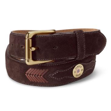 Suede Shotshell Belt -