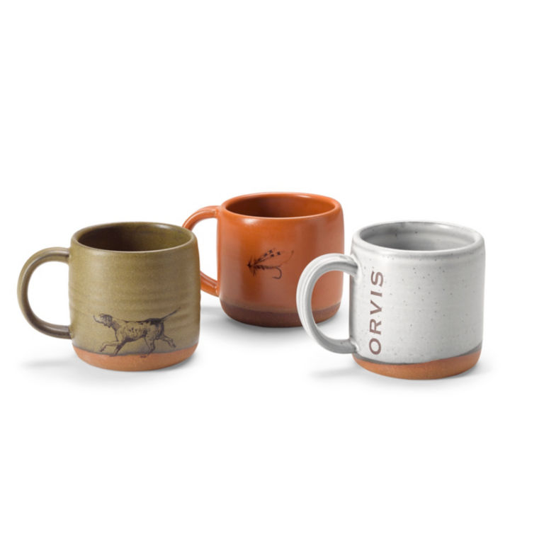 Orvis Ceramic Coffee Cup -  image number 1