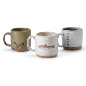 Orvis Ceramic Coffee Cup -