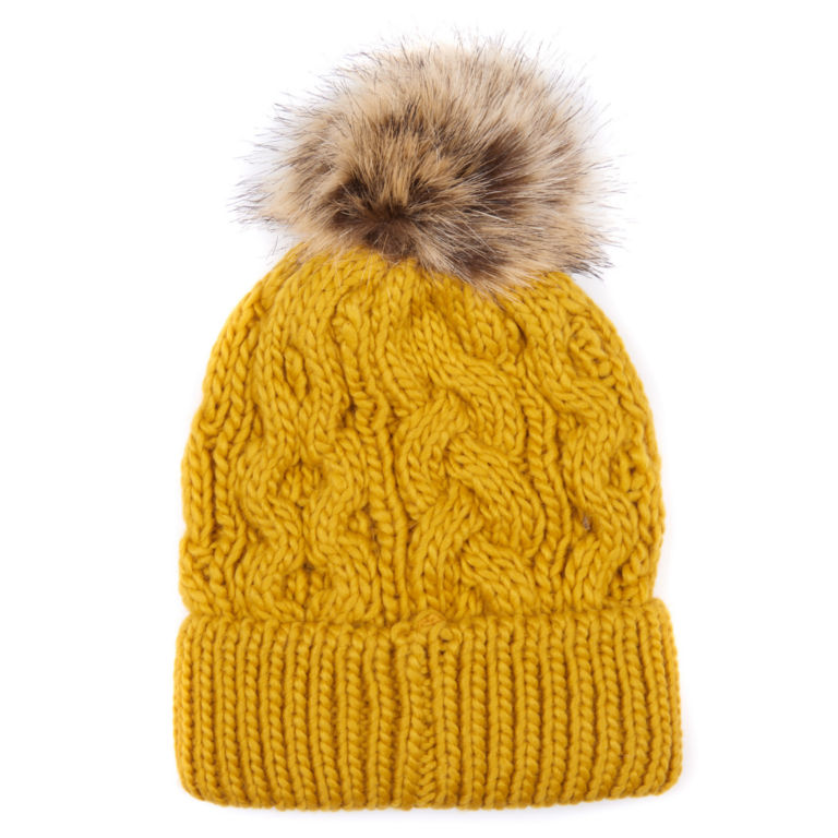 Barbour® Penshaw Cable Beanie - OCHRE image number 0
