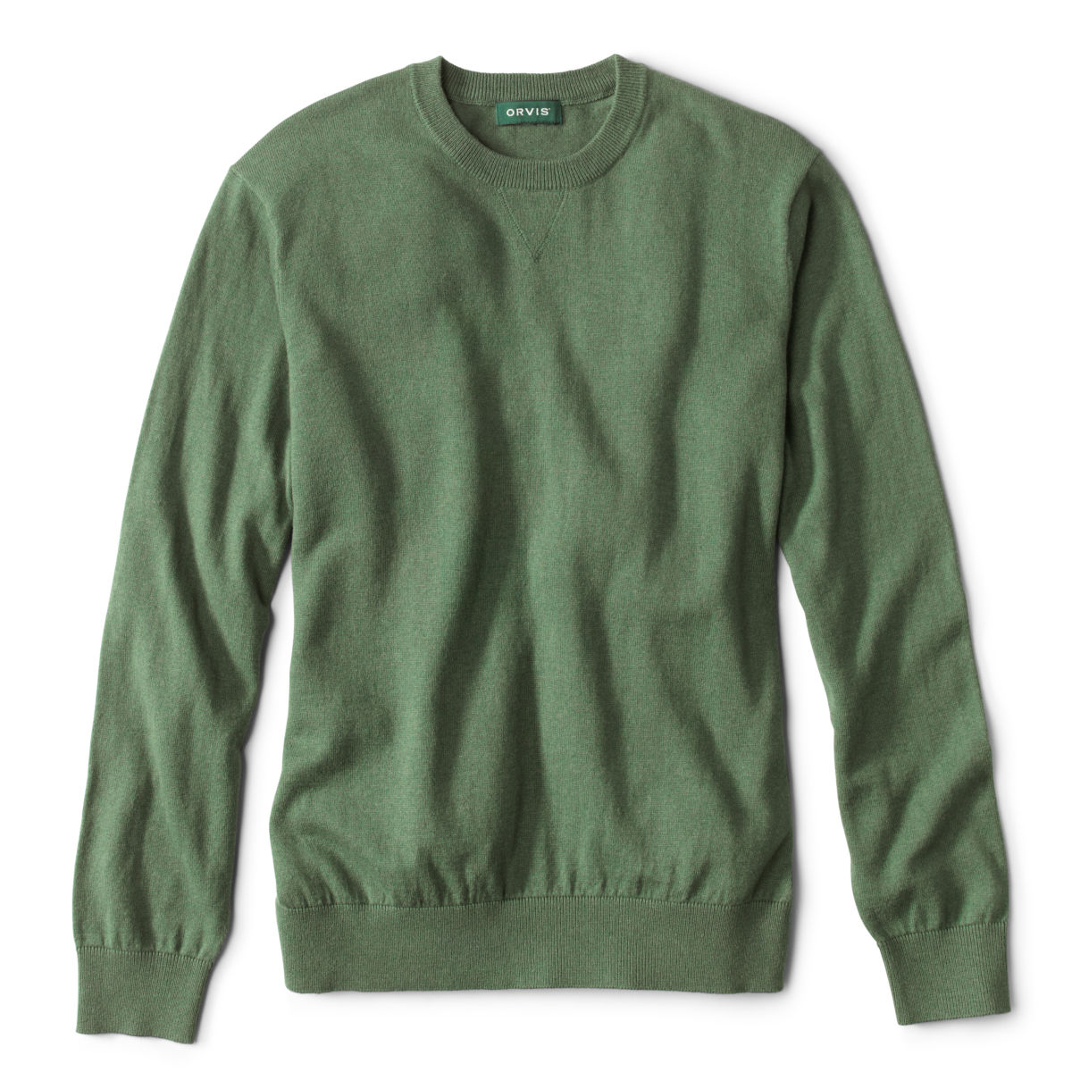 Cotton/Silk/Cashmere Crewneck Sweater - image number 0