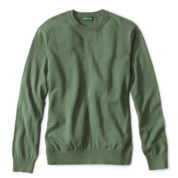 Cotton/Silk/Cashmere Crewneck Sweater -