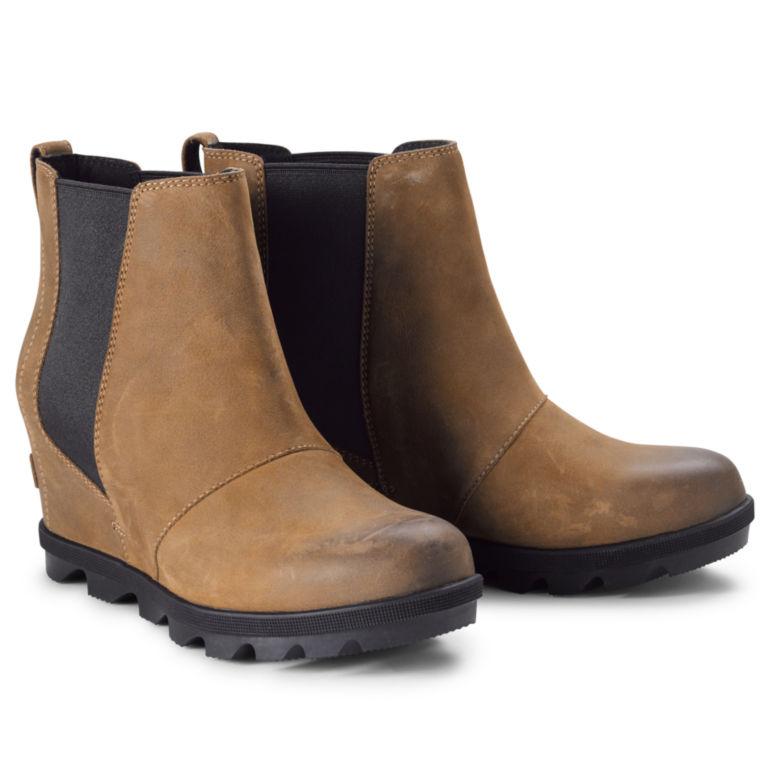 Sorel®  Joan Arctic Wedge Chelsea Boots - BROWN image number 0