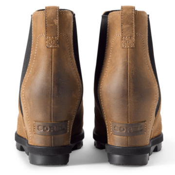 Sorel®  Joan Arctic Wedge Chelsea Boots - BROWN image number 1