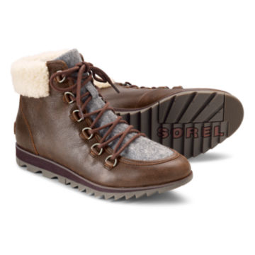 Sorel®  Harlow Lace Cozy Boots -  image number 0
