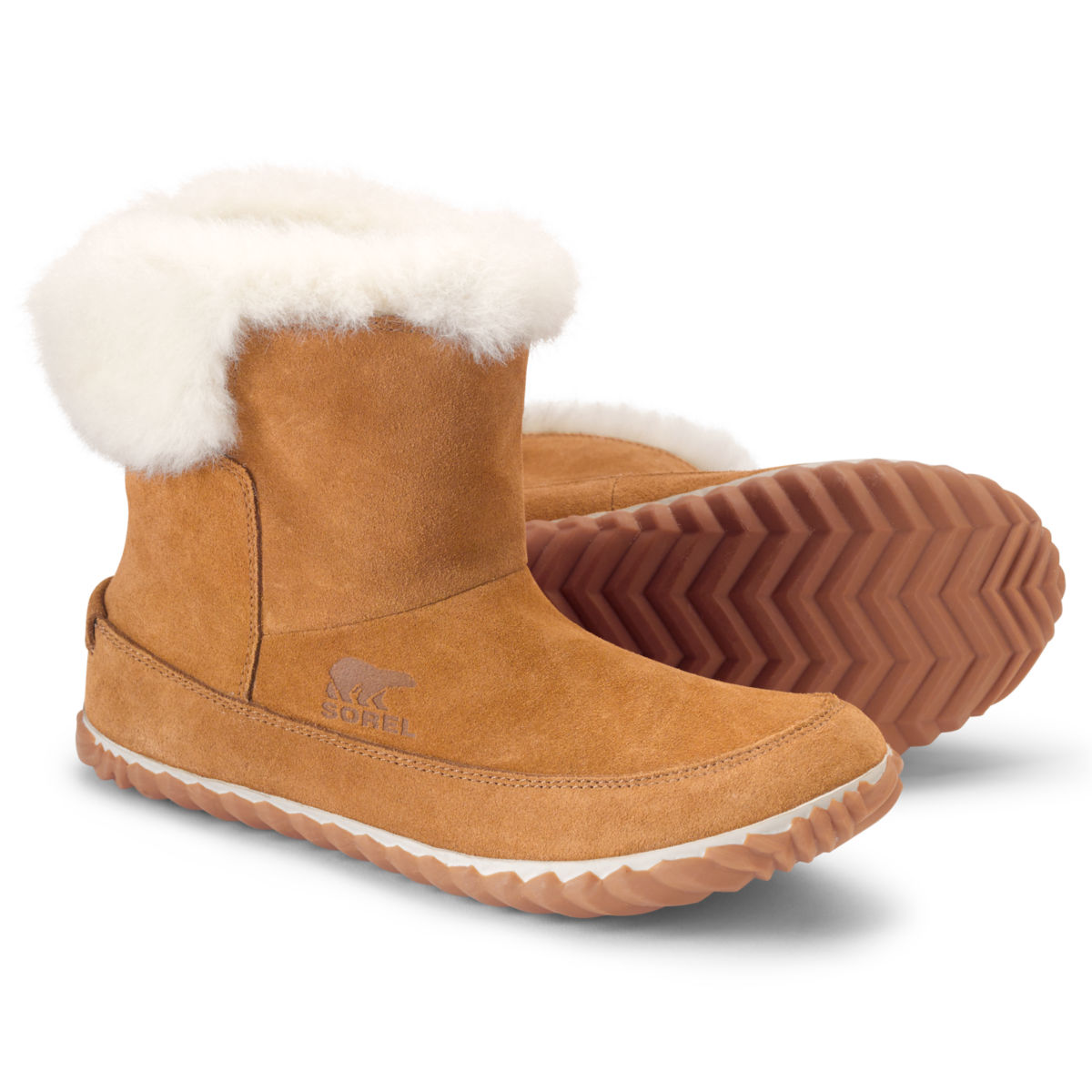 Sorel Out 'N About Booties - TANimage number 0