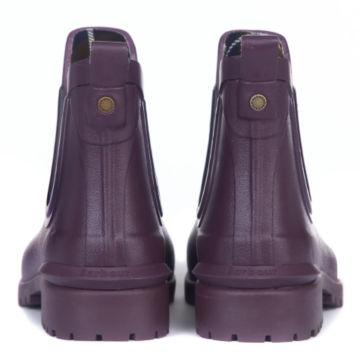 Barbour® Wilton Wellington Low-Top Boots - EGGPLANT image number 3