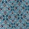 Easy Printed Camp Shirt - BLUE MEDALLION