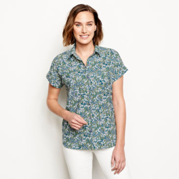 Easy Printed Camp Shirt -