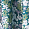 Easy Printed Camp Shirt - GREEN FLORAL