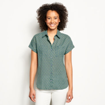 Easy Printed Camp Shirt -