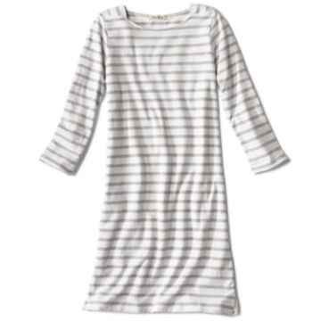 Classic Cotton Striped Tee Dress -  image number 4