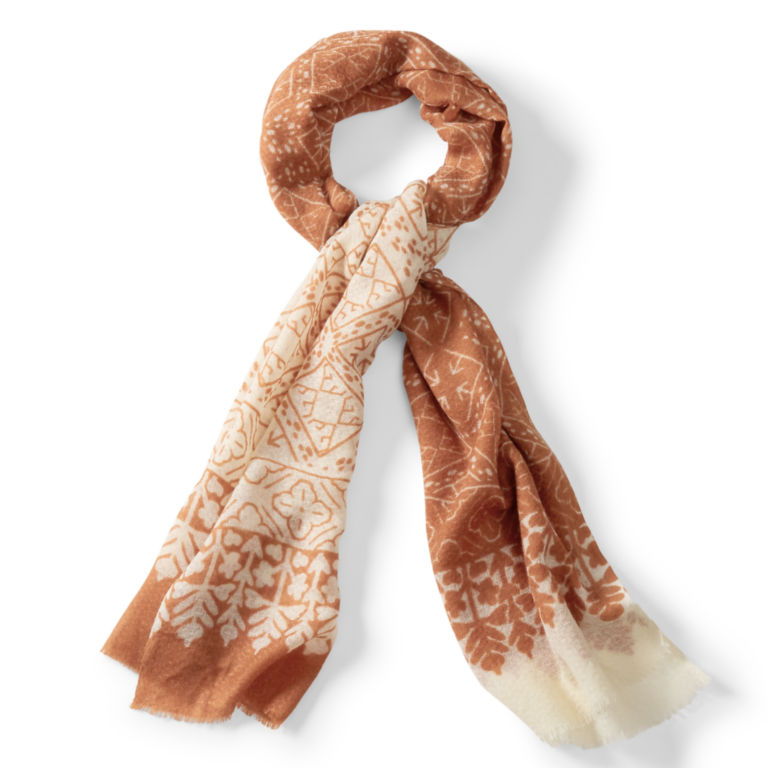 Block Print Scarf - SPICE image number 0