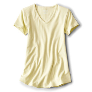 Relaxed V-Neck Short-Sleeved Perfect Tee -  image number 3