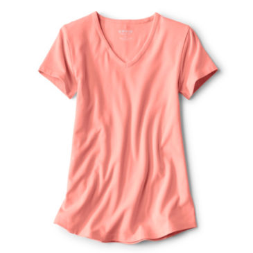 Relaxed V-Neck Short-Sleeved Perfect Tee -