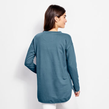 Heathered French Terry Tunic -  image number 2
