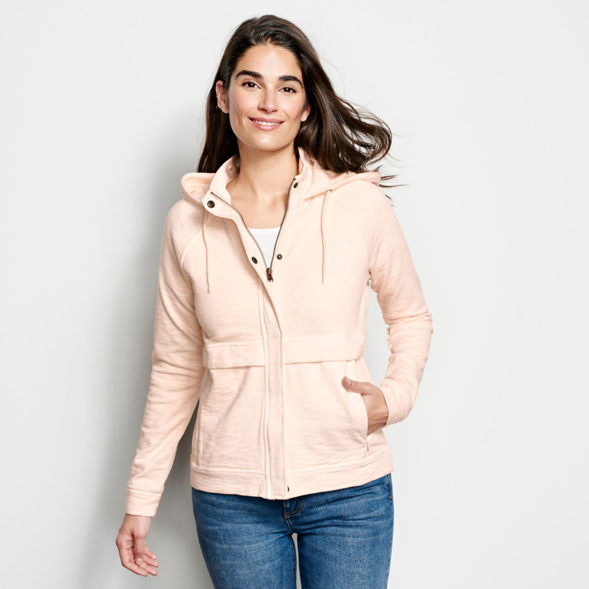 Sunwashed Zip-Front Sweatshirt - image number 0