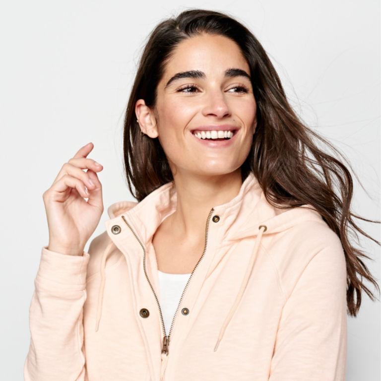 Sunwashed Zip-Front Sweatshirt -  image number 3