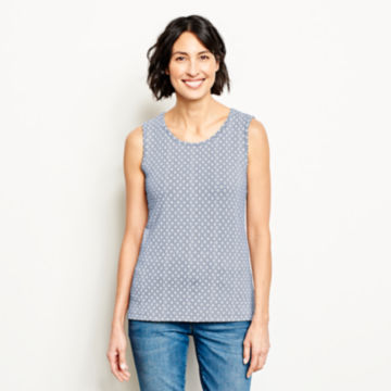 Sleeveless Printed Top -  image number 0