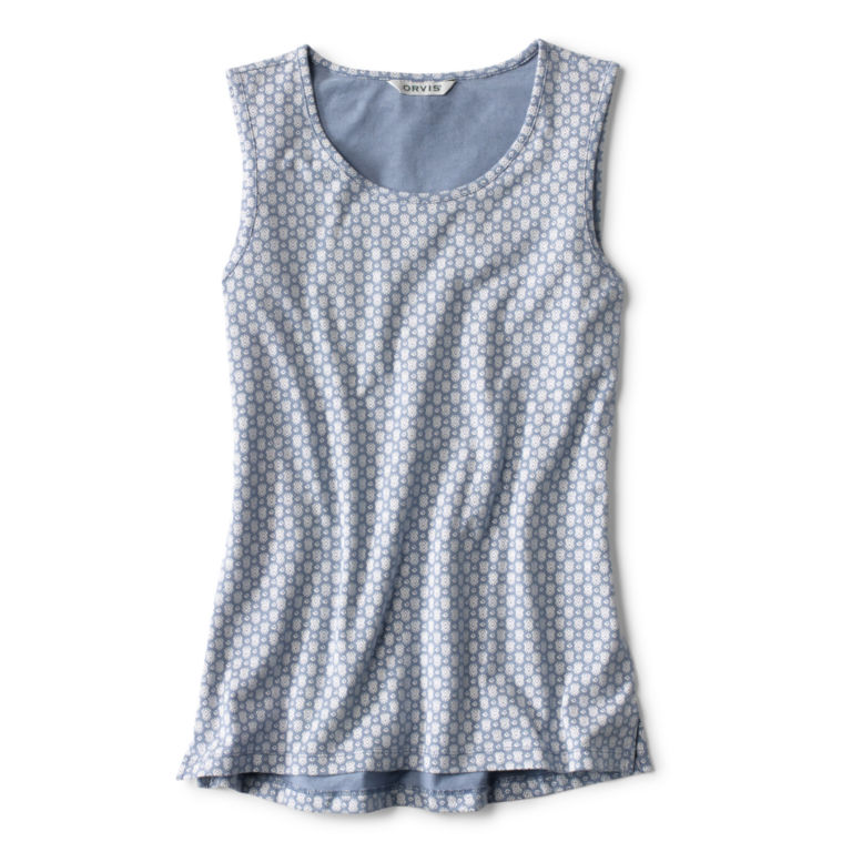 Sleeveless Printed Top -  image number 4