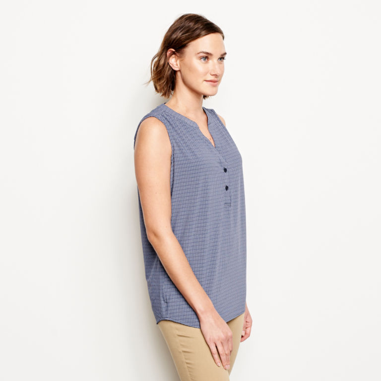 The Journey Popover Sleeveless Top -  image number 1