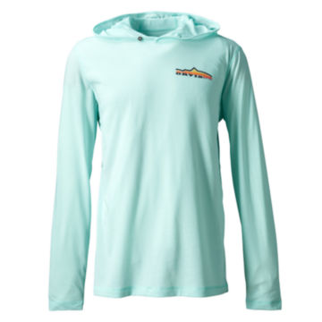 Mountain Rise drirelease® Hoodie - AZURE image number 0
