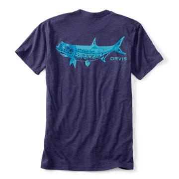 Tarpon Bones T-Shirt - MEDIUM BLUE image number 0