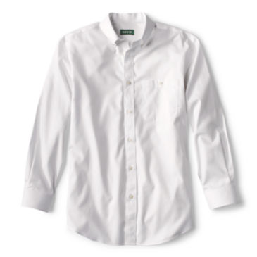 Pure Cotton Wrinkle-Free Pinpoint Oxford Long-Sleeved Shirt -