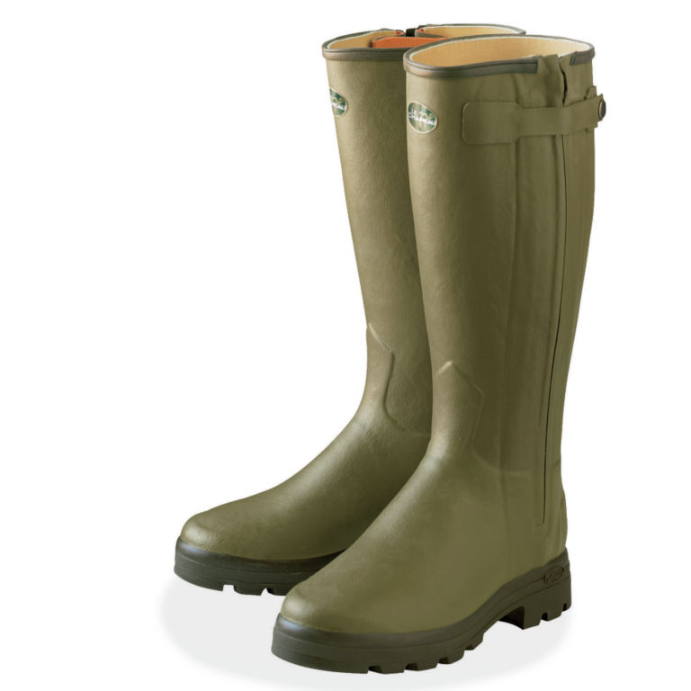 Women's Le Chameau Chasseur Leather-Lined Boots -  image number 0