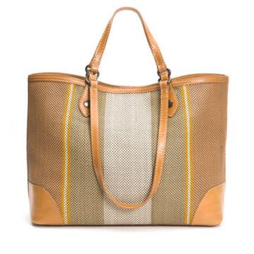 Frye® Melissa Striped Shopper -  image number 1