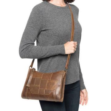 Frye® Melissa Zip Patchwork Crossbody Bag -  image number 5