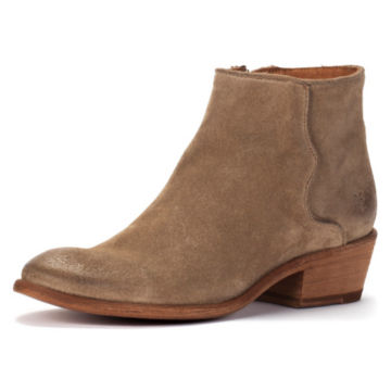 Frye Carson Piping Suede Booties -  image number 0